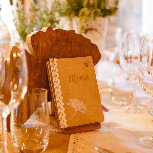 Menukarte-Hochzeit
