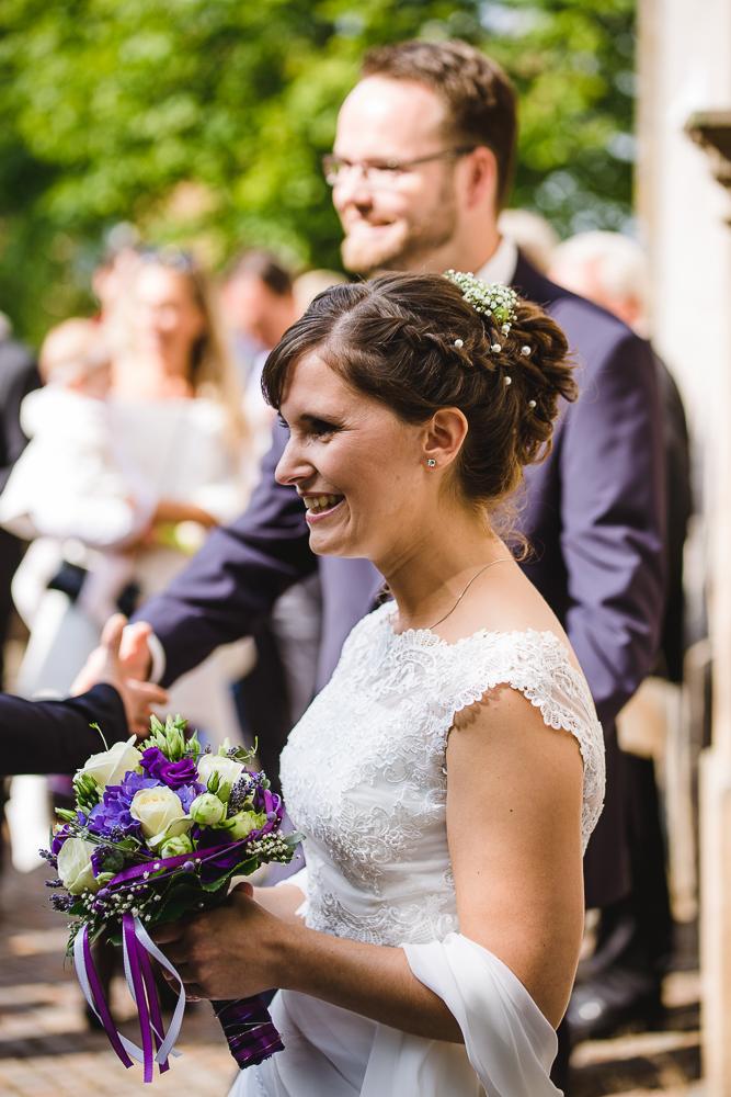Brautpaargratulation