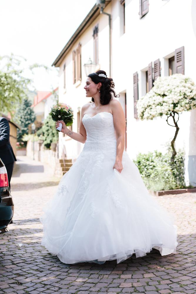 Ankunft-Braut